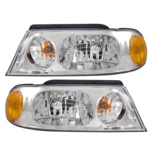 Jayco Firenza Replacement Headlight Assembly Pair (Left & Right)